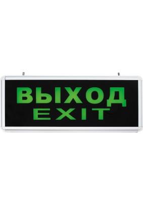 """Светильник Feron """"Выход-EXIT"""" одностор . светодиод. 1Вт 6LED EL50"""