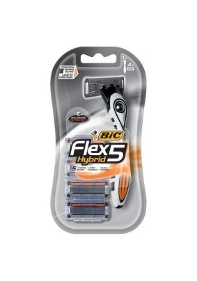 Станок бритвенный BIC Flex 5 hybrid
