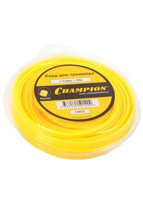 Леска д/триммера Д3.0, 25 м, круг CHAMPION  Round C5012