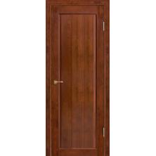 Дверное полотно ДГ Лео /античный орех -600/