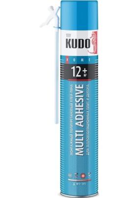 Клей-пена монтажная KUDO HOME 12+/всесезонна/ для теплоизоляционных плит и декора/1000 мл