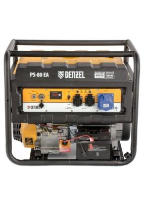 Генератор бенз Denzel PS 80 EA/8.0кВт/25л/220В