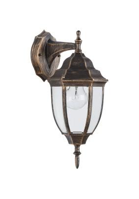Светильник садово-парковый PL6002 11894 60W 230V E27 черное золото