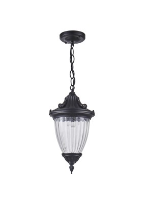 Светильник садово-парковый, 41166 60W 230V IP44 черный, PL585