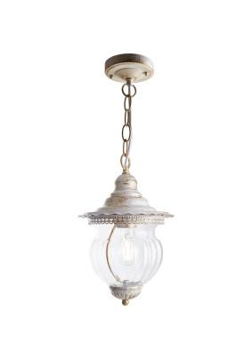 Светильник садово-парковый, 41169 60W 230V IP44 белое золото, PL595