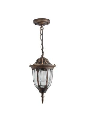 Светильник садово-парковый, 11899 60W 230V E27 черное золото, PL6305