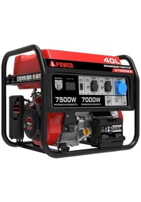 Генератор бенз. A-IPower А7500EA 7 кВт/40л/220В электростартер