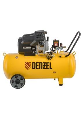 Компрессор Denzel DKV-2200/100 (400л/мин, объем 100л.2.2кВт 8бар 220В)