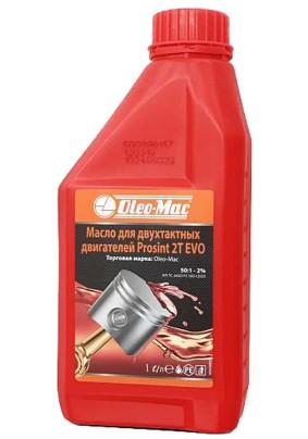 Масло для 2-х тактных двигателей 1 л., Oleo-Mac new Prosint 2T 1:50 (п/с) (1л.) 1/12