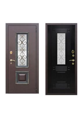 Дверь мет. Венеция Венге 2050х960/правая