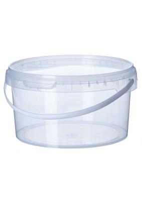 Ведро пластмассовое для засолки круглое 1л