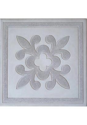 Цветок серый Плитка тротуарная 30х30х3 /1м2-11шт=60,5кг/под=20м/