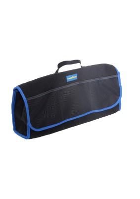 Сумка-органайзер в багажник Goodyear из карпета большая/GY001008/GY001007