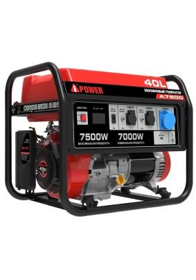 Генератор бенз. A-IPower А7500 7 кВт/40л/220В