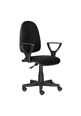 Кресло BRABIX Prestige Ergo MG-311 ткань, чёрное