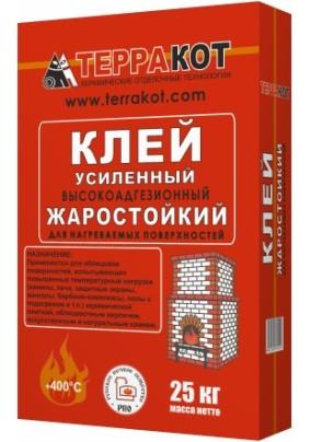 """Клей для плитки жаростойкий """"Терракот""""/ 25кг"""
