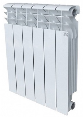 Радиатор ал. STI 500/100 ( 6 секц.)