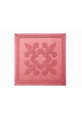 Цветок красный Плитка тротуарная 30х30х3 /1м2-11шт=60,5кг/под=20м/
