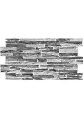 Панель ПВХ /980х500мм/Фартук Сланец темный серый