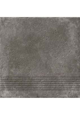 Carpet Ступень рельеф, темно-коричневый (C-CP4A516D) 29,8х29,8/ упак-1,06 м2