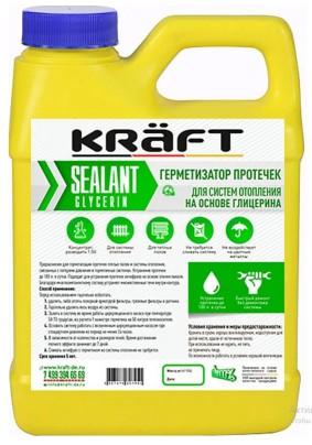 Герметизатор протечек KRAFT (глицерин) 0,5л