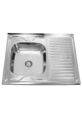 Мойка нерж. Sink Light, полированная, 60х80/0.8х180 лев. (*10)