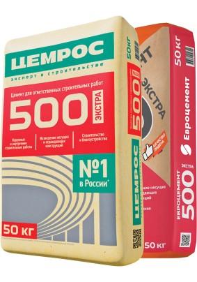 Цемент М-500/ЦЕМ II/ Евроцемент/50кг