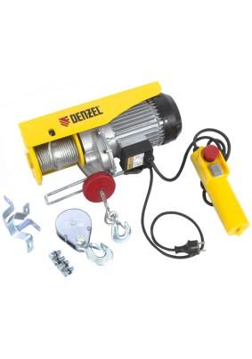 Тельфер электрический Denzel TF-800, 0,8 т, 1300 Вт, высота 12 м, 8 м/мин