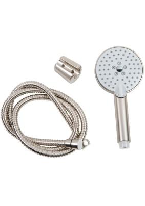 Душевой набор Orange LM53ni 3- режимный ручной душ 110 мм , шланг 1500 (никель)