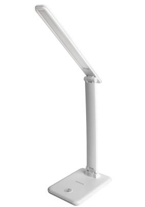Лампа настольная Ultraflash UF-730 С01 белый (LED настольный, 11 Вт, 3 уровня яркости)
