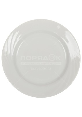 Тарелка Голубка Белая мелк. 200мм/0С0582