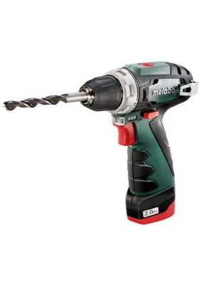 Шуруповерт аккум. Metabo PowerMaxx BS 10.8В 2х2.0/10.8 В. Li-ion,БЗП-10мм, кейс