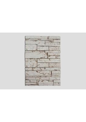 Монблан серо-коричневый Плитка гипсоцементная 9х39х1,5 /кратно уп=0,85м=30шт/под=40,8м/