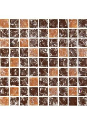 №451 Мозаика  стеклянная 30х30 (чип 15х15)