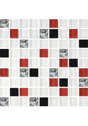 №458  Мозаика стеклянная 30х30 (чип 15х15)