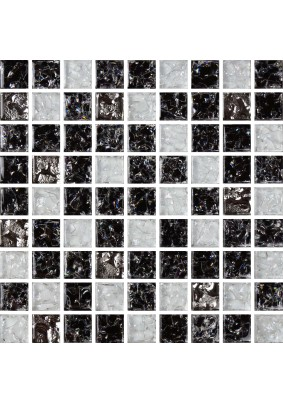 №503 Мозаика  стеклянная 30х30 (чип 15х15)