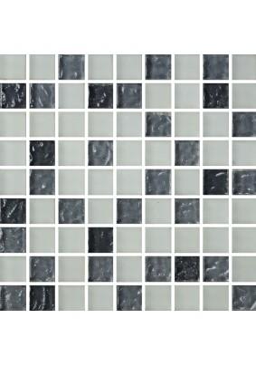 №579 Мозаика  стеклянная 30х30 (чип 15х15)