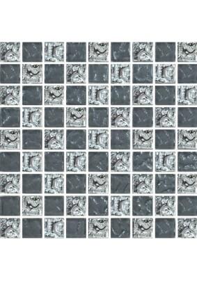 №647 Мозаика  стеклянная 30х30 (чип 15х15)
