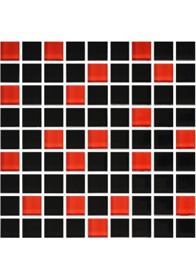 №758 Мозаика  стеклянная 30х30 (чип 23х23)