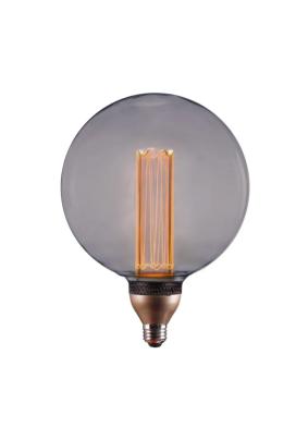 Лампа LED 8W 250Lm E27 2000K HL-2253 VEIN G200P Smoky 3-STEP dimmable HIPER