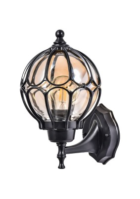 Светильник садово-парковый PL3701 06340 60W 230V E27 IP44 черный, Feron