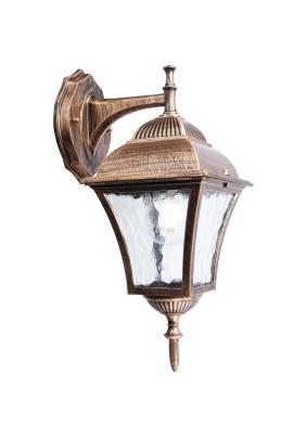 Светильник садово-парковый PL612 11614 60W 230V E27 черное золото, Feron