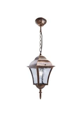 Светильник садово-парковый PL615 11612 60W 230V E27 черное золото, Feron