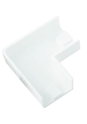 Угол плоский (поворот на 90град) 20х10 бел.