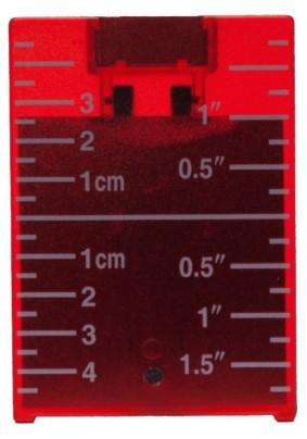 Мишень красная с встроенным магнитом ADA