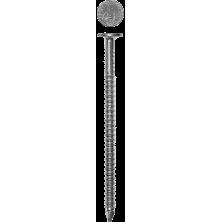 Гвозди ершенные  40х4.2/кг/ с плоской головкой