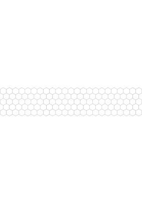 Панель ABS /3.0х0.6х0.0015м/Фартук Ромбы