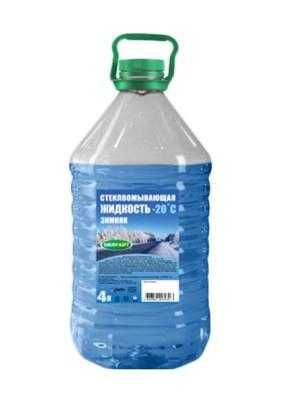 Жидкость стеклоомывающая зимняя -20С Оilright 4л