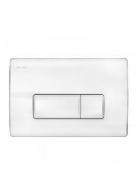 Клавиша для инсталляции I048001 Pro M/пневматическая/ белая