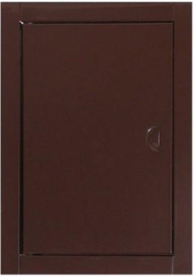 Люк ревизионный 15х15 ДР1515 коричневый
